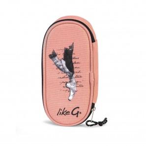 Schreibzeugetui Pink mit Innenklappe LG-CASE-18G LikeG.