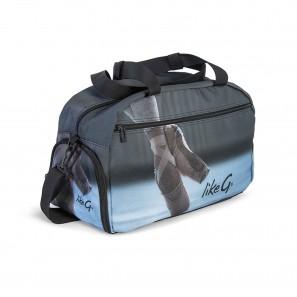 Tanz Sport Tasche mit Ballettschuh Motiv LG-BAG-104 LikeG.