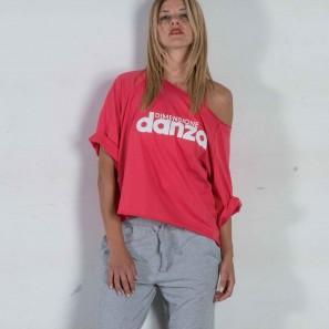 T-Shirt mit Logo DZ2A127 Dimensione Danza