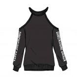 Sweatshirt mit freien Schultern DZ2C406 Dimensione Danza