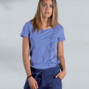 T-Shirt mit Ballettschuh Motiv DZ2A211 Dimensione Danza