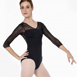Ballett Body ¾-Arm aus Spitze 31520 Intermezzo