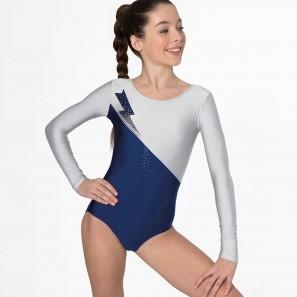 Tanz- Gymnastikanzug mit Glitter-Mesh 31528 Intermezzo