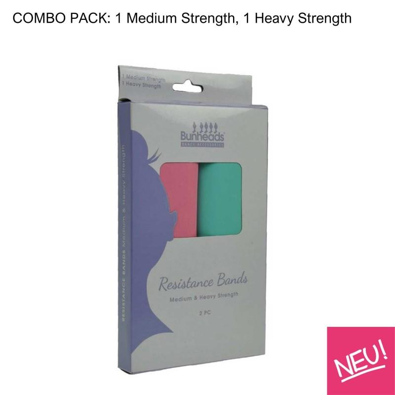 Übungsbänder aus Latex Bunheads – Combo Pack