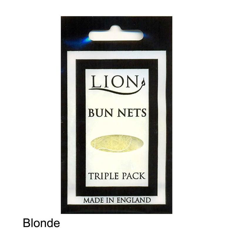 Dutt Haarnetze 3-er Pack Lion 99