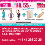 RAD Ballettset / Kombipaket - Freed-Body (SPEZIALANGEBOT)
