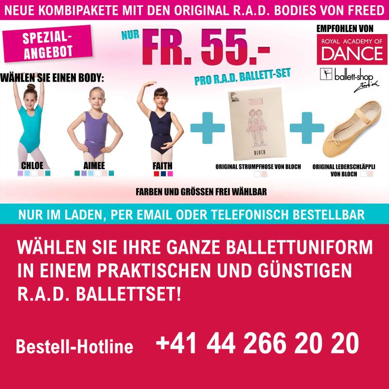 RAD Ballettset / Kombipaket - Freed-Body (SPEZIALANGEBOT)