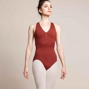 Ballettanzug mit Reissverschluss M3069LM Bodyzip