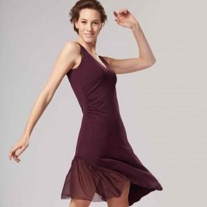 Tanz Kleid Tunika DALIA mit Tülleinsatz Temps Danse