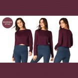 Cropped Pullover OI7592 Beyond Yoga