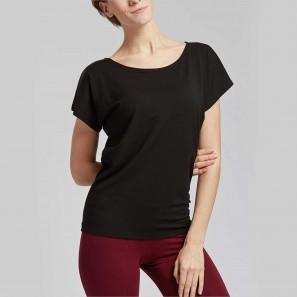 Basic T-Shirt aus Viskose AVA von Temps Danse
