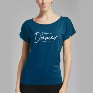 Tanz Top AVA I AM mit Aufschrift von Temps Danse