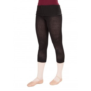 CL114147 KDdance Fold-Down Capri Leggings