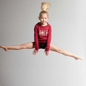 Kinder Tanz Sweatshirt TALIA JR GRAFIK Temps Danse