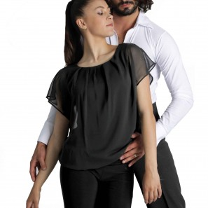 Tanz Latin Top Kurzarm 6529 Intermezzo