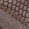 Dunkelbr. Vintage Leder Reptil Prägung